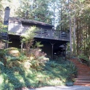 26SL Two Story Cabin in the Woods