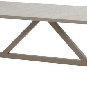 4 Seasons Outdoor Diva tuintafel 240 x 110 cm Taupe 6-persoons