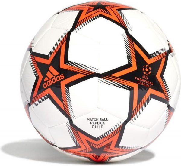 Adidas voetbal Champions League - maat 5 - wit/rood